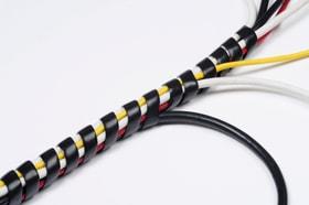 Tidy Flexible 10-40 mm, 2,5 m Länge Kabelschutzschlauch D-Line 612174800000 Bild Nr. 1