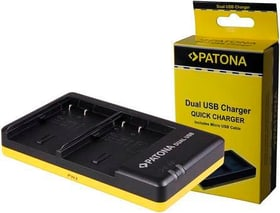 Dual USB DMW-BLF19 chargeur Patona 785300144504 Photo no. 1