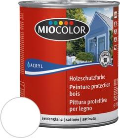 Peinture de protection pour le bois Blanc 750 ml Miocolor 661118600000 Couleur Blanc Contenu 750.0 ml Photo no. 1