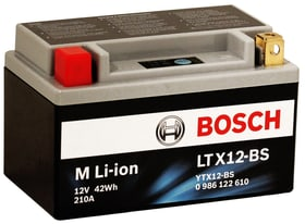 Li-ion LTX12-BS 42Wh Batterie moto Bosch 620473500000 Photo no. 1