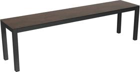 LOCARNO, 140 cm, struttura antracite, piano Ceramica Panca 753193114035 Taglio L: 140.0 cm x L: 35.0 cm x A: 45.0 cm Colore Oxido Flame N. figura 1