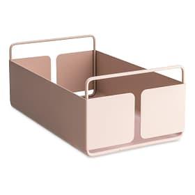 NIKLAS cestino di metallo 374135500938 Dimensioni L: 18.5 cm x P: 29.5 cm x A: 12.8 cm Colore Rosa N. figura 1