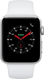 Watch Series3 GPS+Cellular 42mm Silver Aluminium Case White Sport Band Smartwatch Apple 785300139123 Bild Nr. 1