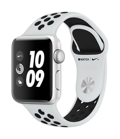 Watch Series 3 Nike+ GPS 38mm silver/platinum black
