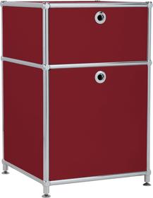 FLEXCUBE Cassettiera 401808400030 Dimensioni L: 40.0 cm x P: 40.0 cm x A: 62.5 cm Colore Rosso N. figura 1