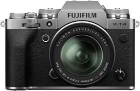 X-T4 silber XF18-55mm Systemkamera Kit FUJIFILM 785300151755 Bild Nr. 1