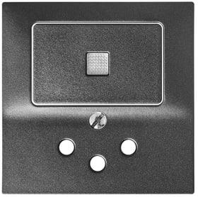 Edizio Due UP Combinazione piccola  1xT12 Set di copertura Feller 612200400000 N. figura 1