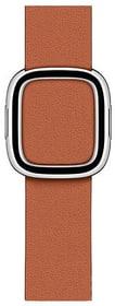 40 mm Modernes Lederarmband Sattelbraun - Large Armband Apple 785300147579 Bild Nr. 1
