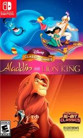 NSW - Disney Classic Games Aladdin and The Lion King D Box 785300147173 Bild Nr. 1