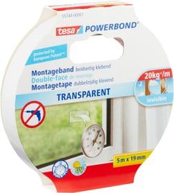 Montageband transparent Tesa 663059800000 Farbe Transparent Grösse L: 5.0 m x B: 19.0 mm Bild Nr. 1