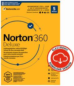 Security 360 Deluxe with 50GB 5 Device - PC/Mac/Android/iOS - ESD Digital (ESD) Norton 785300155783 Photo no. 1
