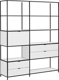 SEVEN Wohnsystem 407567900000 Grösse B: 154.8 cm x T: 39.0 cm x H: 189.0 cm Farbe Weiss Bild Nr. 1