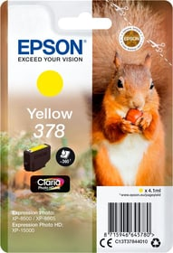 Cartouche d'encre 378 jaune Cartouche d'encre Epson 798549900000 Photo no. 1