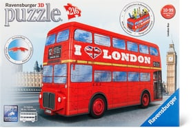 London Bus 3D Puzzle Ravensburger 748970800000 Photo no. 1