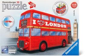 London Bus 3D Puzzle Puzzles Ravensburger 748970800000 Photo no. 1