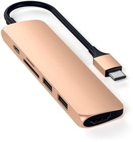 USB-C Slim Aluminium Multiport Adapter V2 Adapter Satechi 785300142373 Bild Nr. 1