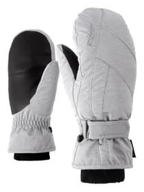 Karmani GTX + GORE Warm Gants de ski pour femme Ziener 464413607081 Couleur gris claire Taille 7 Photo no. 1