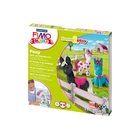 Kids set pony