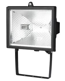 Halogen Wandstrahler 400 Watt, schwarz