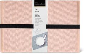 Set da tavola 2pz Cucina & Tavola 700368000036 Colore rosa N. figura 1