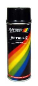 Peinture acrylique noir metallic 400 ml Peinture aérosol MOTIP 620836600000 Photo no. 1