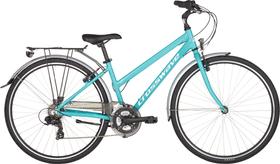 Jewel Vélo de ville Crosswave 464837705044 Couleur turquoise Tailles du cadre 50 Photo no. 1
