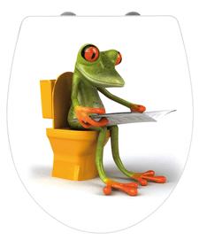 Frog News WC-Sitz WENKO 674041300000 Bild Nr. 1