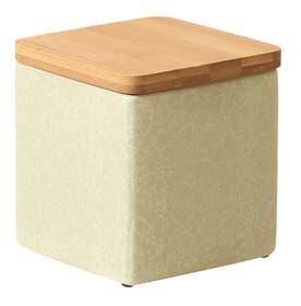 Boîte en pierre avec couvercle Boîte de conservation 657730900000 Couleur Vert tilleul Taille L: 10.0 cm x L: 10.0 cm x H: 11.0 cm Photo no. 1