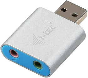 USB Metal Mini Audio Adapter i-Tec 785300147214 Bild Nr. 1