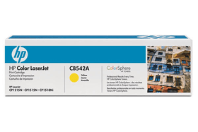 CB542A Toner-Modul yellow Cartouche de toner HP 797505400000 Photo no. 1