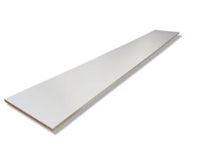 Pannello truciolare bianco 16 mm HolzZollhaus 643016900000 Longueur L: 1200.0 mm Dimensione 16 x 300 mm N. figura 1
