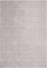 FLAVIAN Teppich 412020912080 Farbe grau Grösse B: 120.0 cm x T: 170.0 cm Bild Nr. 1
