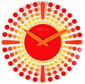 Horloge murale Dreamtime Red Dia Horologe murale NexTime 785300141170 Photo no. 1