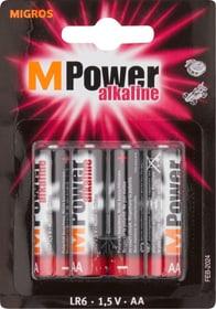 AA / LR6 4 pièces pile Batterie M-Power 704717800000 Photo no. 1