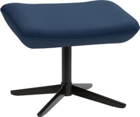 ARNOLD Pouff 402452508040 Dimensions L: 55.0 cm x P: 37.0 cm x H: 43.0 cm Couleur Bleu Photo no. 1