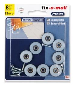 Piedini universale in viti 5 mm / Ø 22 mm 8 x Fix-O-Moll 607078900000 N. figura 1
