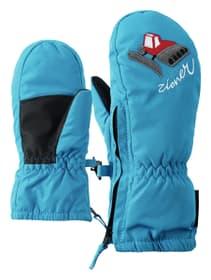 Moufles pour enfant Ziener 472346301540 Couleur bleu Taille 1.5 Photo no. 1