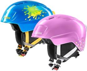 heyya Casque de sports d'hiver Uvex 465071650122 Taille 46-50 Couleur bleu foncé Photo no. 1