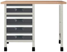 Werkbank No. 5 1130 x 650 x 860 mm 8064 Werkstatt-System Wolfcraft 601457100000 Bild Nr. 1