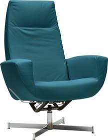 CHARLENE Sessel 402435607066 Grösse B: 77.0 cm x T: 80.0 cm x H: 105.0 cm Farbe Petrol Bild Nr. 1
