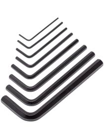 Stiftschlüssel Box 8 tlg. Classic Winkelschraubenzieher Lux 601041500000 Bild Nr. 1