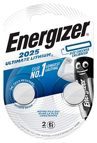 Ultimate Lithium CR2025 2 p pile bouton Energizer 704769100000 Photo no. 1