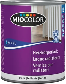 Acryl Heizkörperlack glanz Weiss 750 ml Acryl Weisslack Miocolor 660561000000 Farbe Weiss Inhalt 750.0 ml Bild Nr. 1