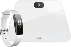 Aria Air & Inspire HR Bundle Weiss Smart Waage & Activity Tracker Fitbit 798721700000 Bild Nr. 1
