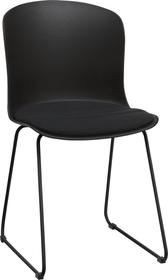 BRERA Chaise 403703000000 Dimensions L: 45.5 cm x P: 54.0 cm x H: 80.5 cm Couleur Noir Photo no. 1