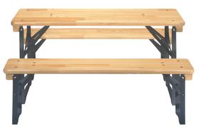 Tavolo e panche per bambini (prodotto in un istituto sociale svizzero) 753131200000 N. figura 1
