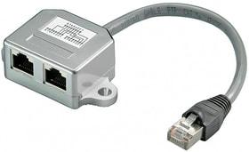 Kabelsplitter RJ45 grau Kabelsplitter Max Hauri 613185800000 Bild Nr. 1