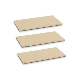 SEVEN Ripiano set da 3 60cm Edition Interio 362019649603 Dimensioni L: 60.0 cm x P: 1.4 cm x A: 35.5 cm Colore Marrone N. figura 1