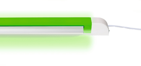Lampe LED vert 200 mm Réglette lumineuse Steffen 615101400000 Photo no. 1