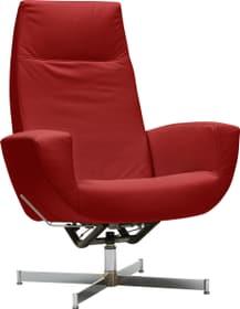 CHARLENE Fauteuil 402435607030 Dimensions L: 77.0 cm x P: 80.0 cm x H: 105.0 cm Couleur Rouge Photo no. 1